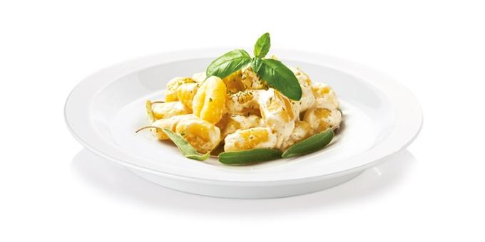 Gnocchi mit Käsesoße