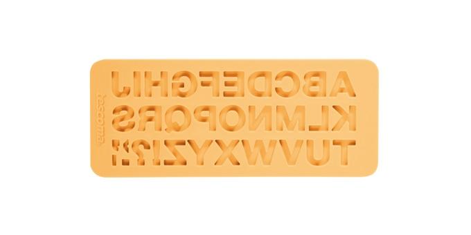 Buchstaben-Formen DELÍCIA DECO