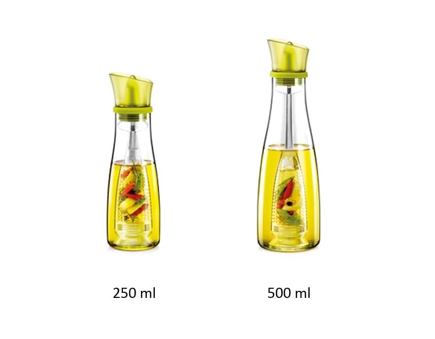 Ölflaschen mit Aromasieb VITAMINO